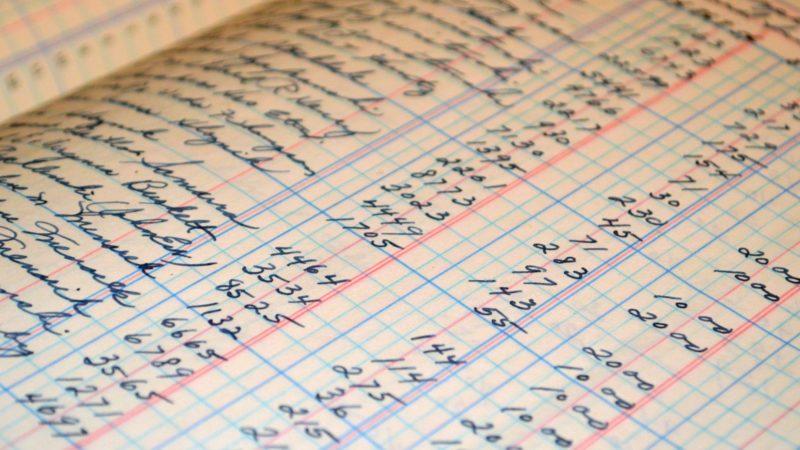 Livre comptable